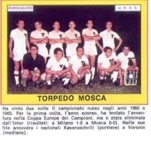 europeo rusia torpedo moscu 1965 ref