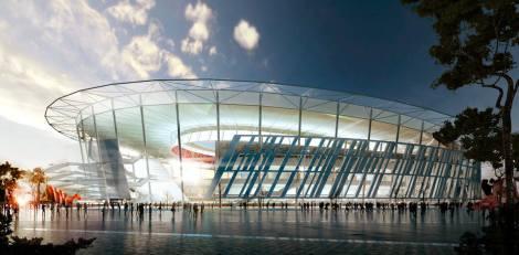 El futuro estadio de la Roma se construirá en el área de Tor di Valle, con un diseño exterior inspirado en el Coliseo.