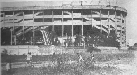 """Primeras imágenes del Estadio Alberto J. Armando """"La Bombonera"""". Fuente: www.lamitad+1.net"""