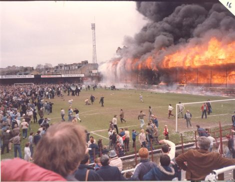 Bradford City Football Club Fire Disaster 11 May 1985 Fifty six people die