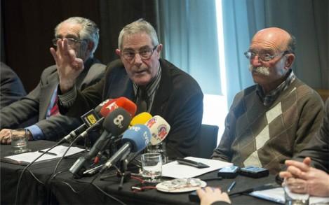 Robert Blanch -en el centro, en una imagen de archivo de Sport.es