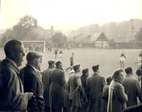Sheffield FC & Hallam FC en 1957