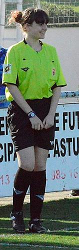 Zaira, antes de un partido