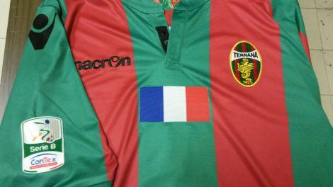 Camiseta de la Ternana con la bandera de Francia
