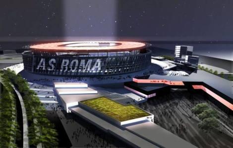 Proyecto nuevo estadio de la Roma (Gazzetta dello sport).
