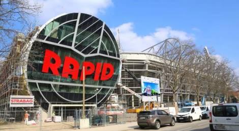El nuevo estadio del Rapid se llamará 'Allianz Stadion' aunque en competiciones europeas se le nominará Weststadion