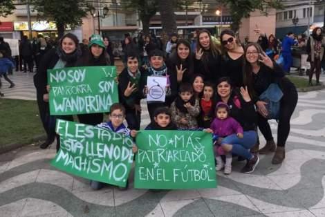 Afición del Santiago Wanderers (Chile)