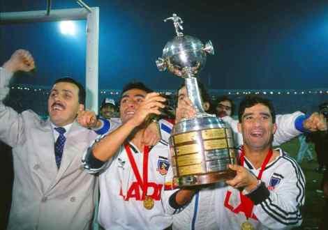 Colo Colo campeón de la Libertadores en 1991